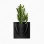 wandpot Vertiplants zwart groot 30 x 30 cm