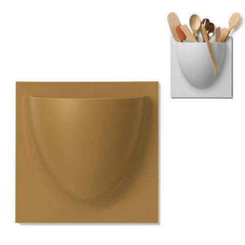 wandpot Vertiplants bruin/beige groot 30 x 30 cm
