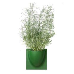 wandpot Vertiplants Mini blad groen 15 x 15 cm