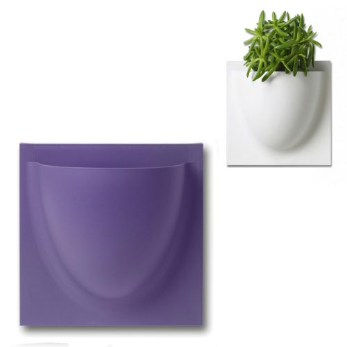wandpot Vertiplants Mini paars 15 x 15 cm