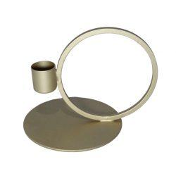 Brandedby kandelaar cirkel goud