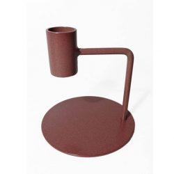 kandelaar Curve - 10 cm | bruin roze