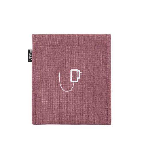 pocket voor lader oud roze