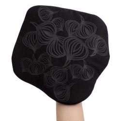 Bosign multifunctionele pannenlap met anti slip patroon | Potholder | zwart