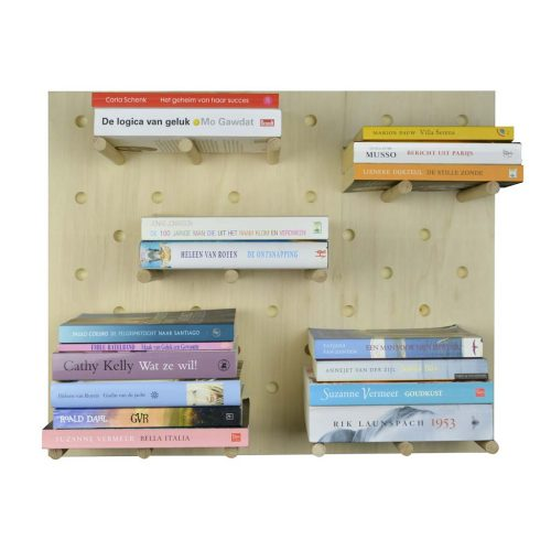 pegboard books