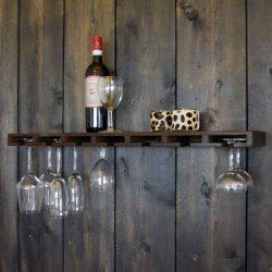 Glass bar koloniaal gebeitst