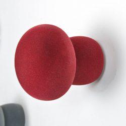 softknob velvet bordeaux rood2