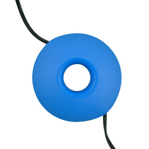 Snoeren oprollen met XL Cable Organizer - Blauw