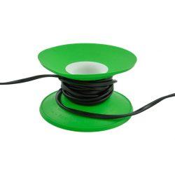 Snoeren oprollen met XL Cable Organizer - Groen / Wit