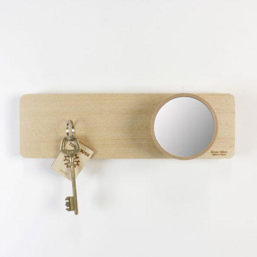 magnetische sleutelhouder met spiegel