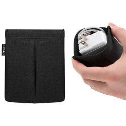 Pocket Puls   etui voor oordopjes en lader   zwart